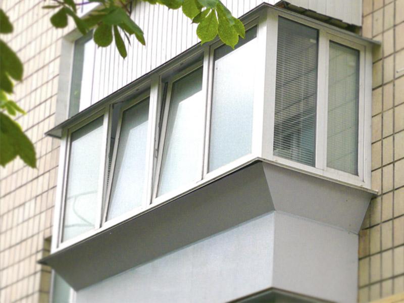 Как сделать балкон с выносом своими руками: фото и видео сов.