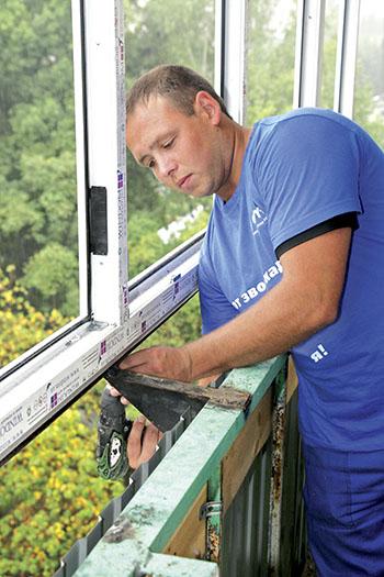 Знакомимся с выносом балконов