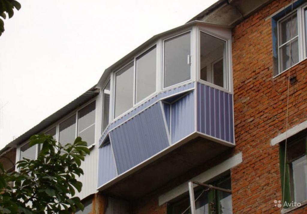 Наружная обшивка балкона - купить в киеве обшивку балкона сн.