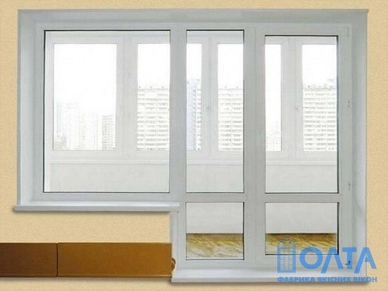 Балконные двери - купить в киеве: цены на металлопластиковые.